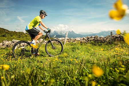 Cycling in the Kitzbühel Alps
